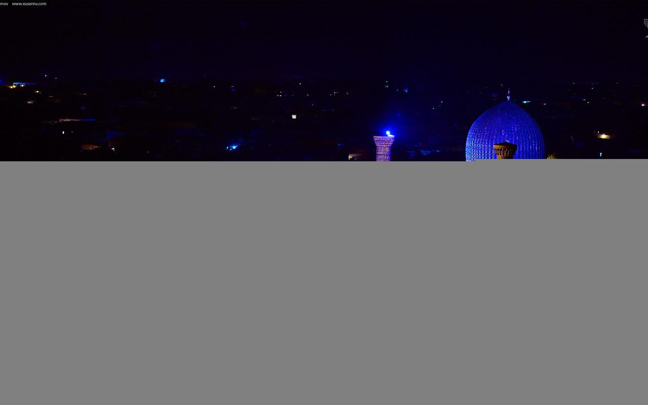 ночной самарканд, гур-эмир, узбекистан, art.irbis production, khusen rustamov, мавзолей тамерлана
