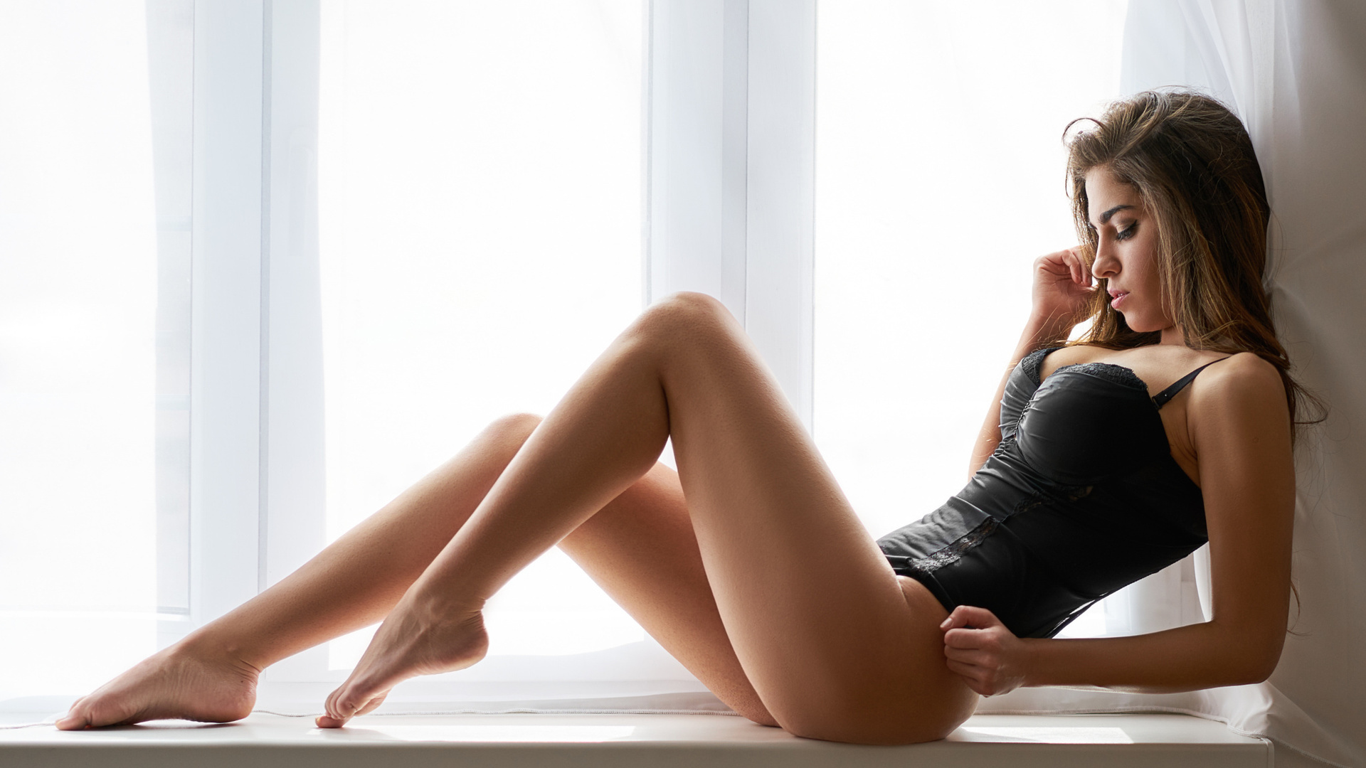 сексуальные ноги красивых дам медицинских