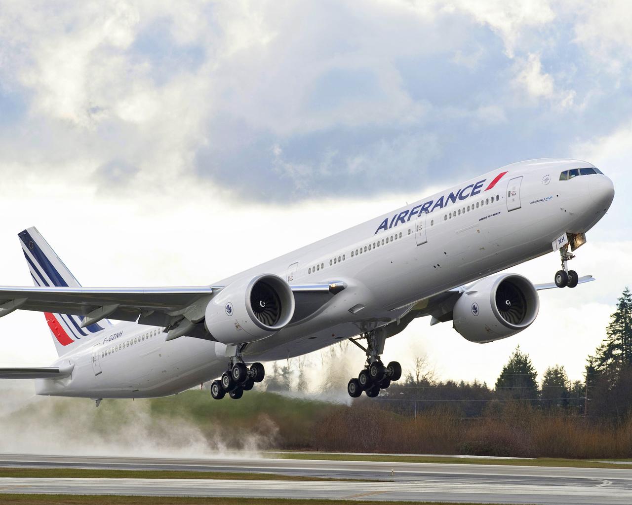 эйр, франс, 777, boeing, самолёт, боинг, air, france