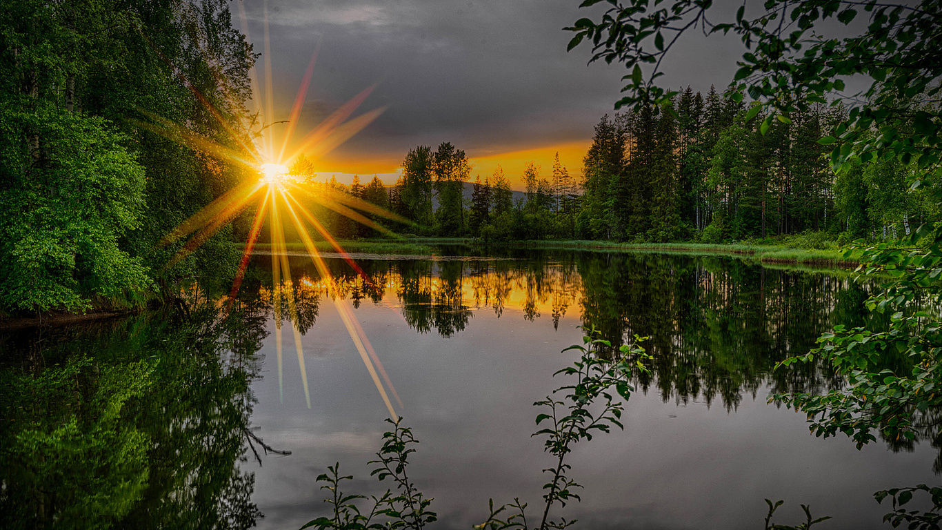 Картинки пейзажей, добрый вечер картинки летние