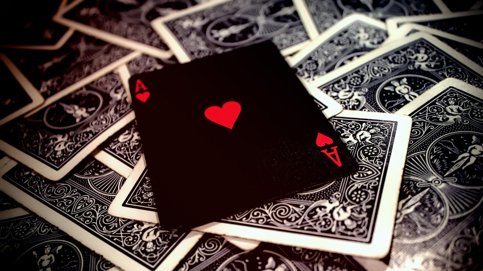карты, игра, туз