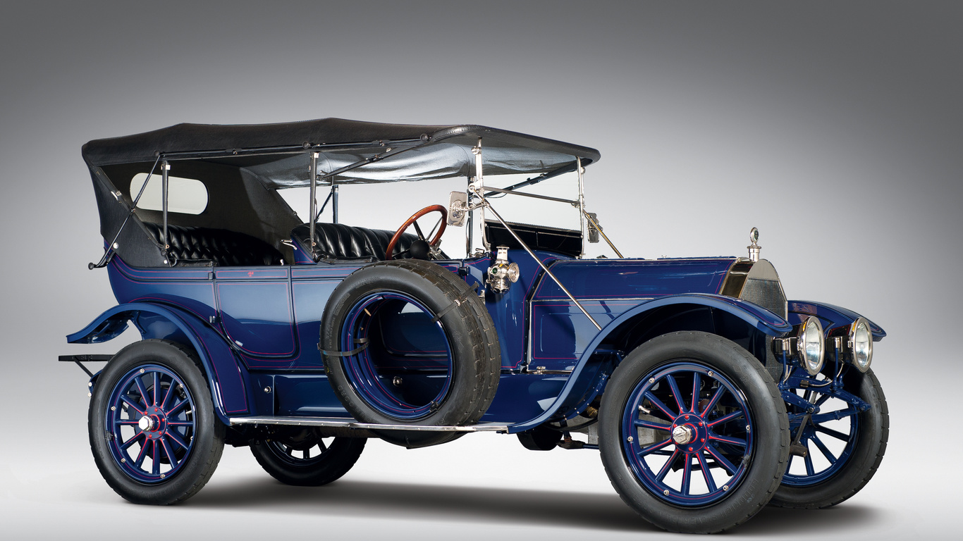 1913, pierce-arrow, model, 48-b 5-pass, touring