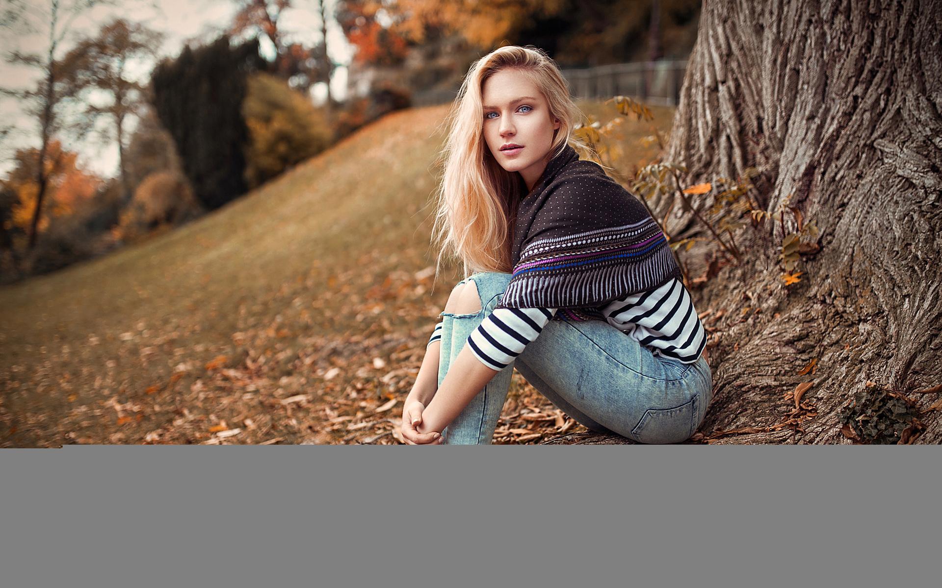 девушка, блондинка, photographer, lods franck, модель, красивая, волосы, взгляд