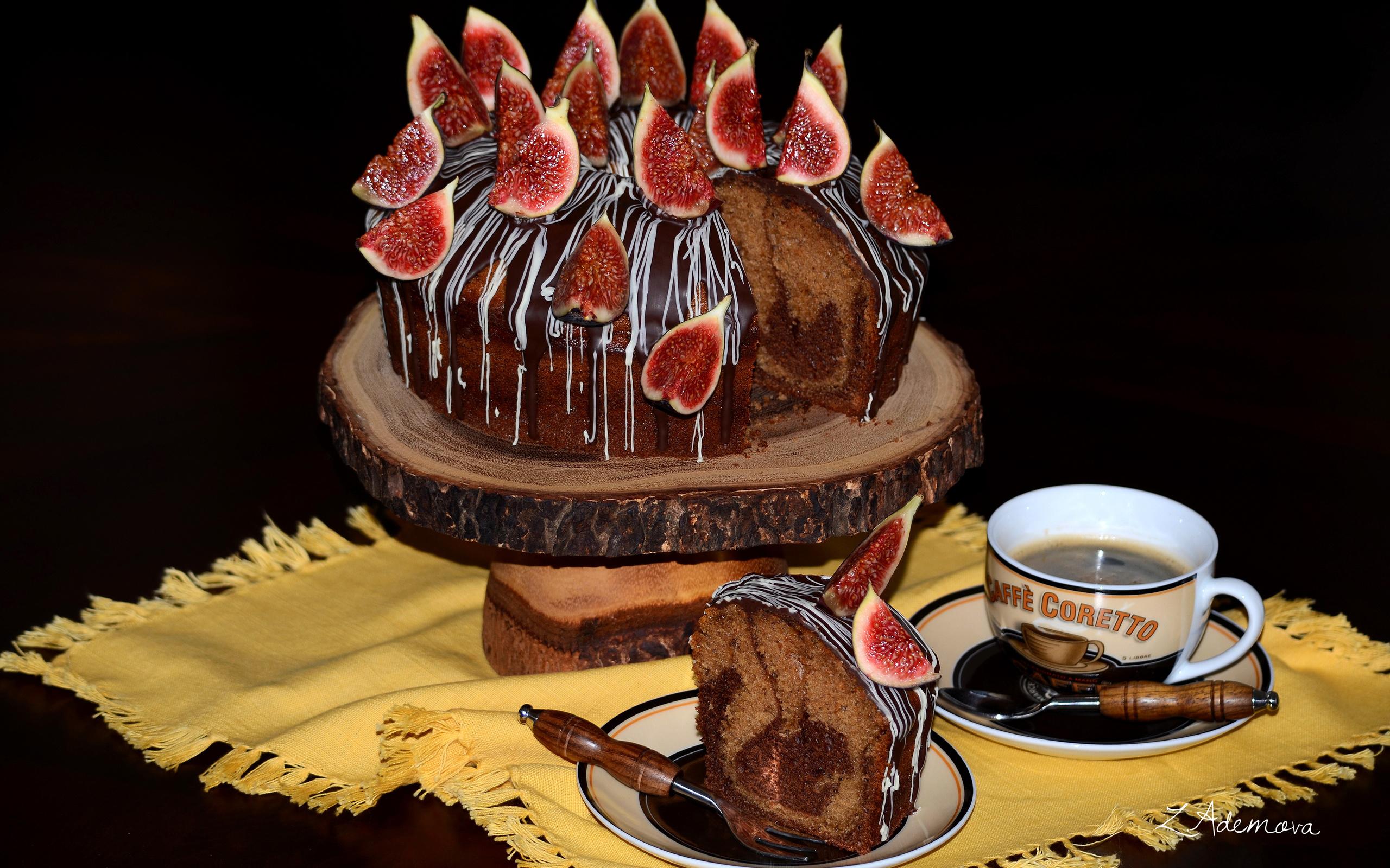 Открытки кофе с тортом, днем