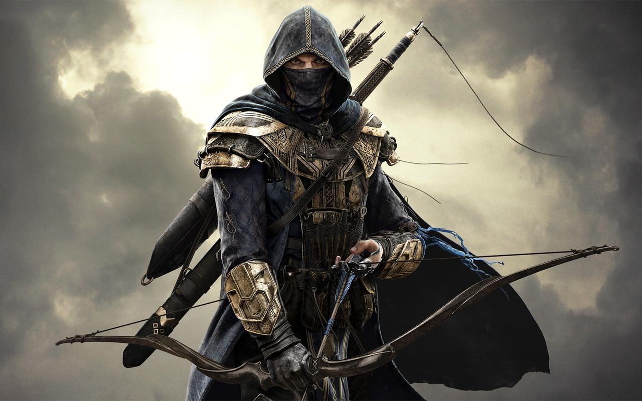 assassin, персонаж, игра, the elder scrolls online