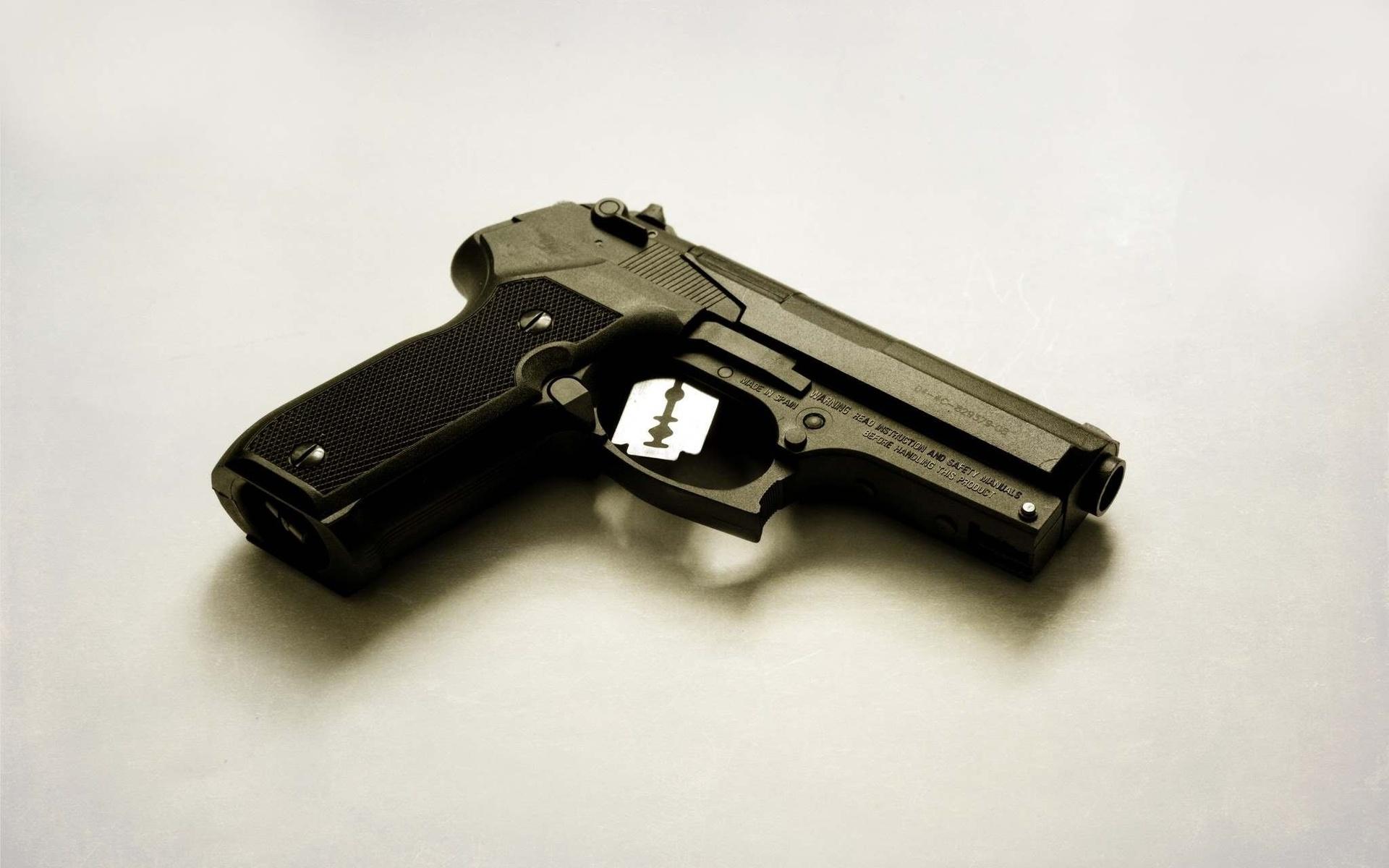 Приколы, картинки смешных пистолетов