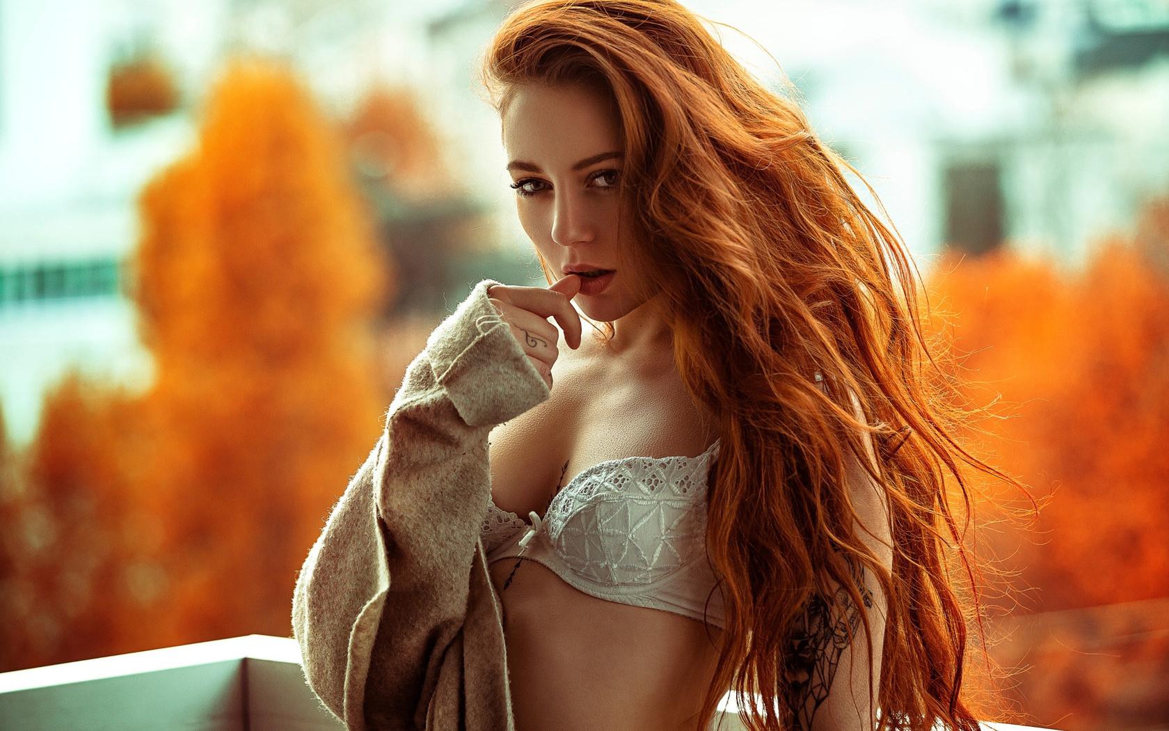 Секс с страстной рыженькой, Порно видео онлайн: РыжиеНежное 24 фотография