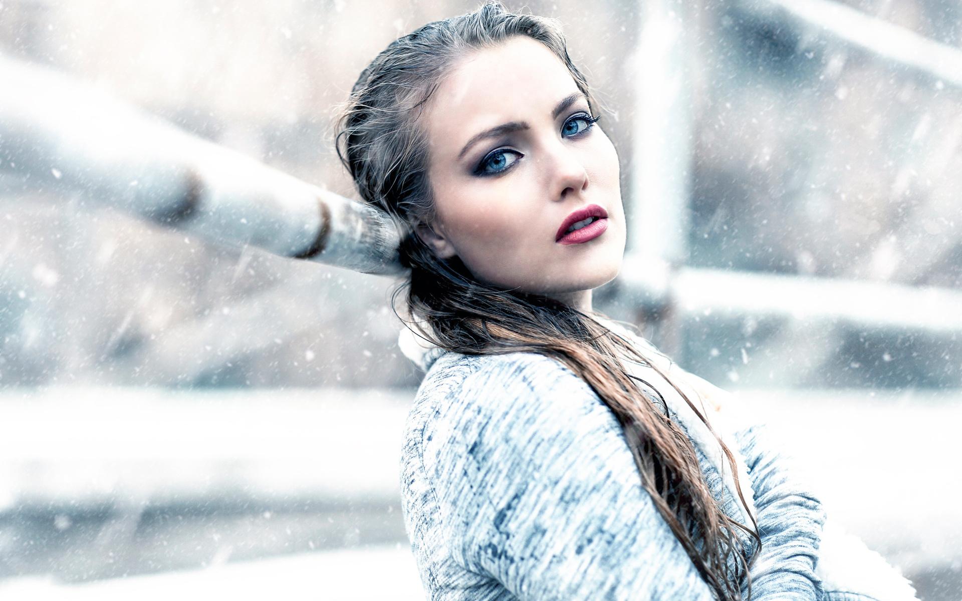 Холодные девушки фото