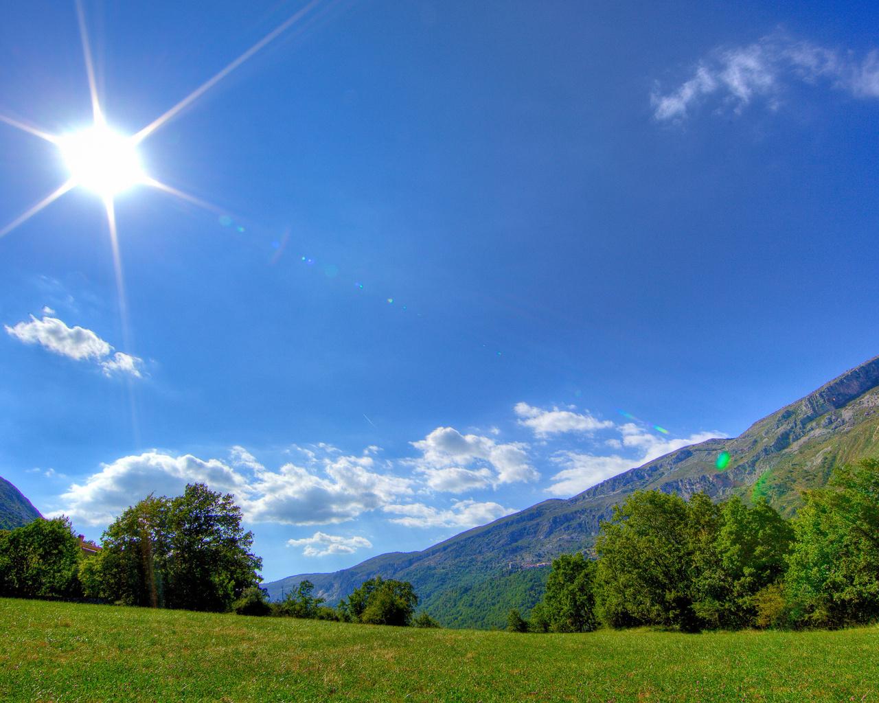 Картинки солнечной погоды летом