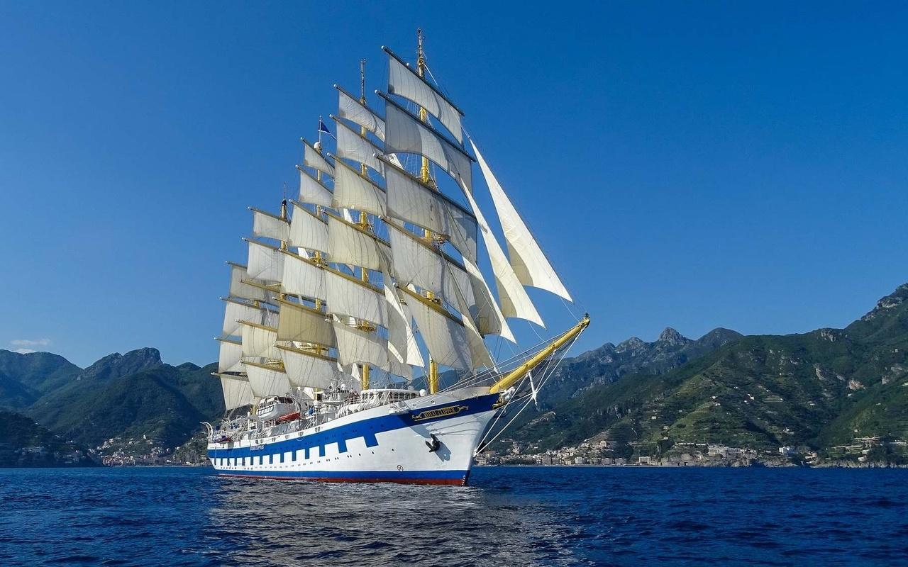 Картинки корабль и море
