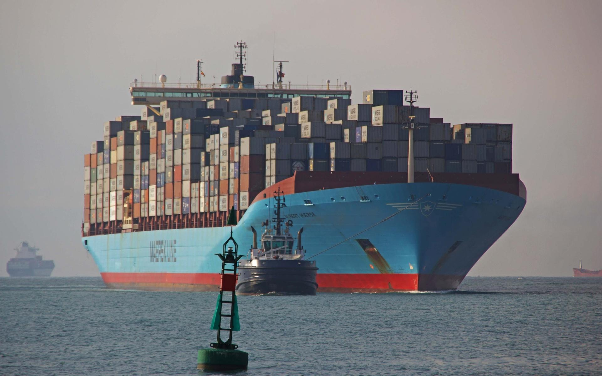 Самые большие грузовые корабли в мире в мире. Фото