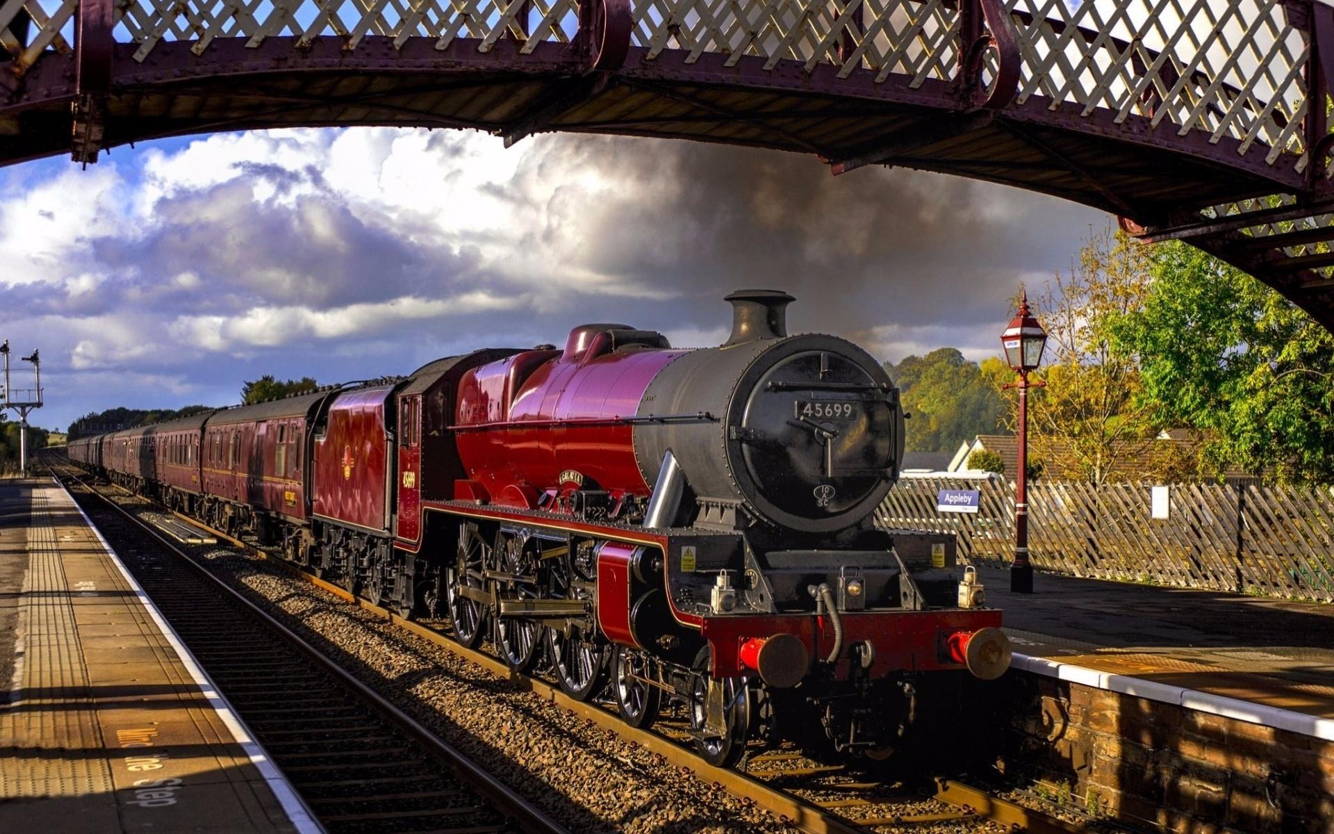 Картинки с поездами