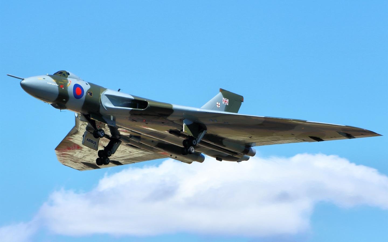 avro vulcan, стратегический, бомбардировщик