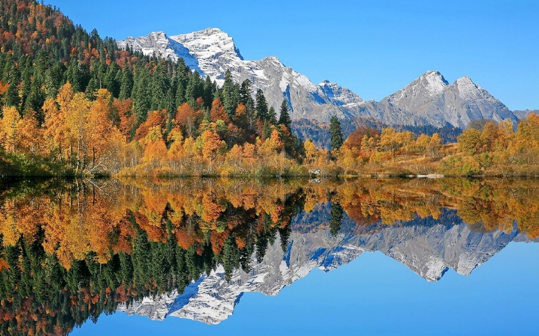 горы, лес, озеро, отражение, кавказ. красная поляна. озеро кардывач, никишин евгений