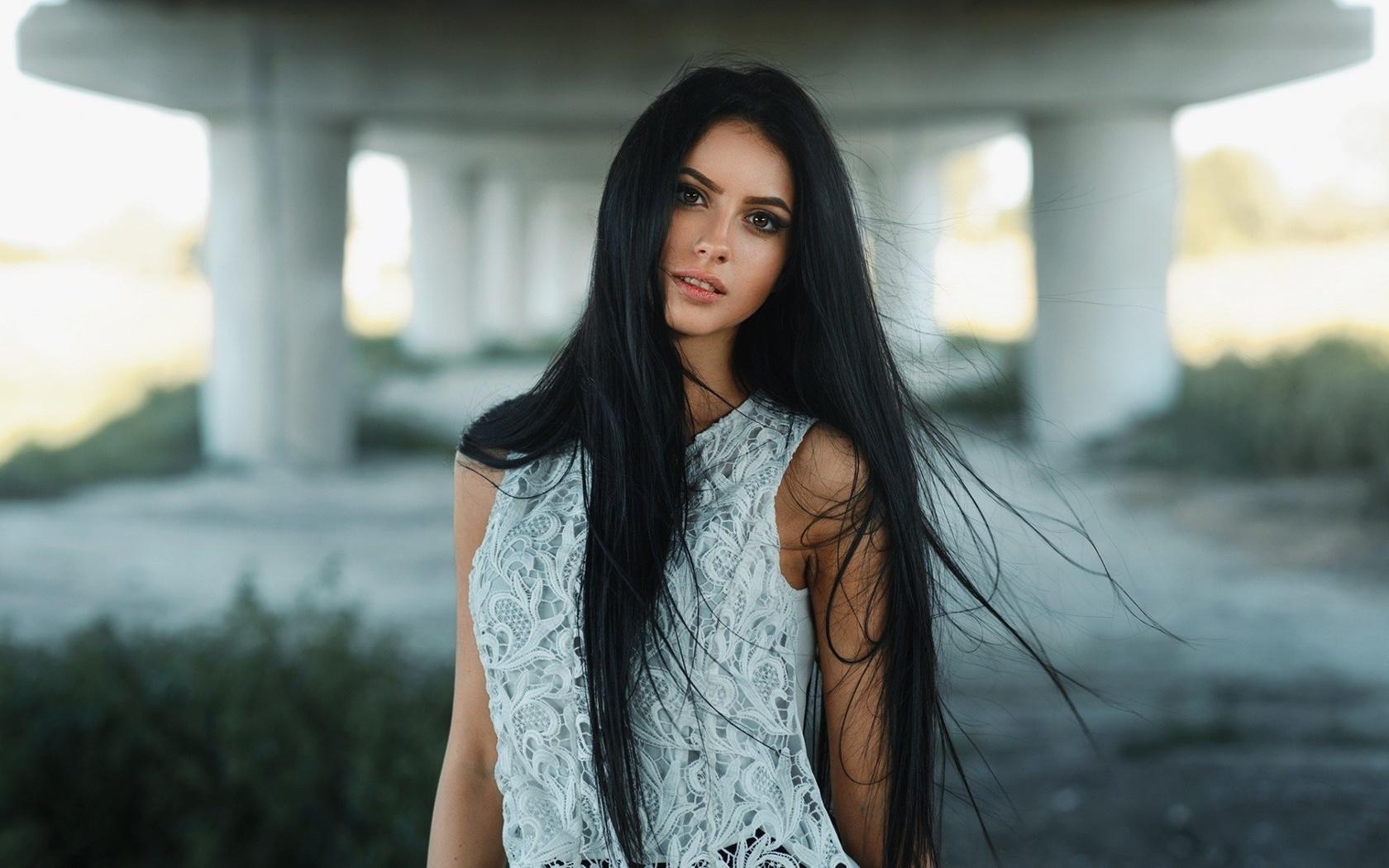 красивые фотографии девушки темноволосая провальные