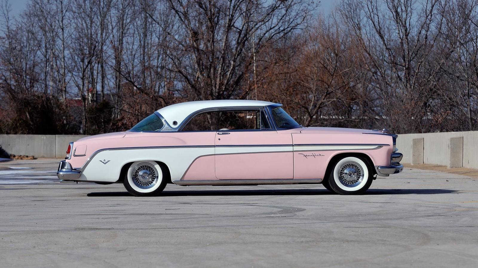 1955 desoto fireflite sportsman, desoto, auto, classic, авто, ретро, американская классика