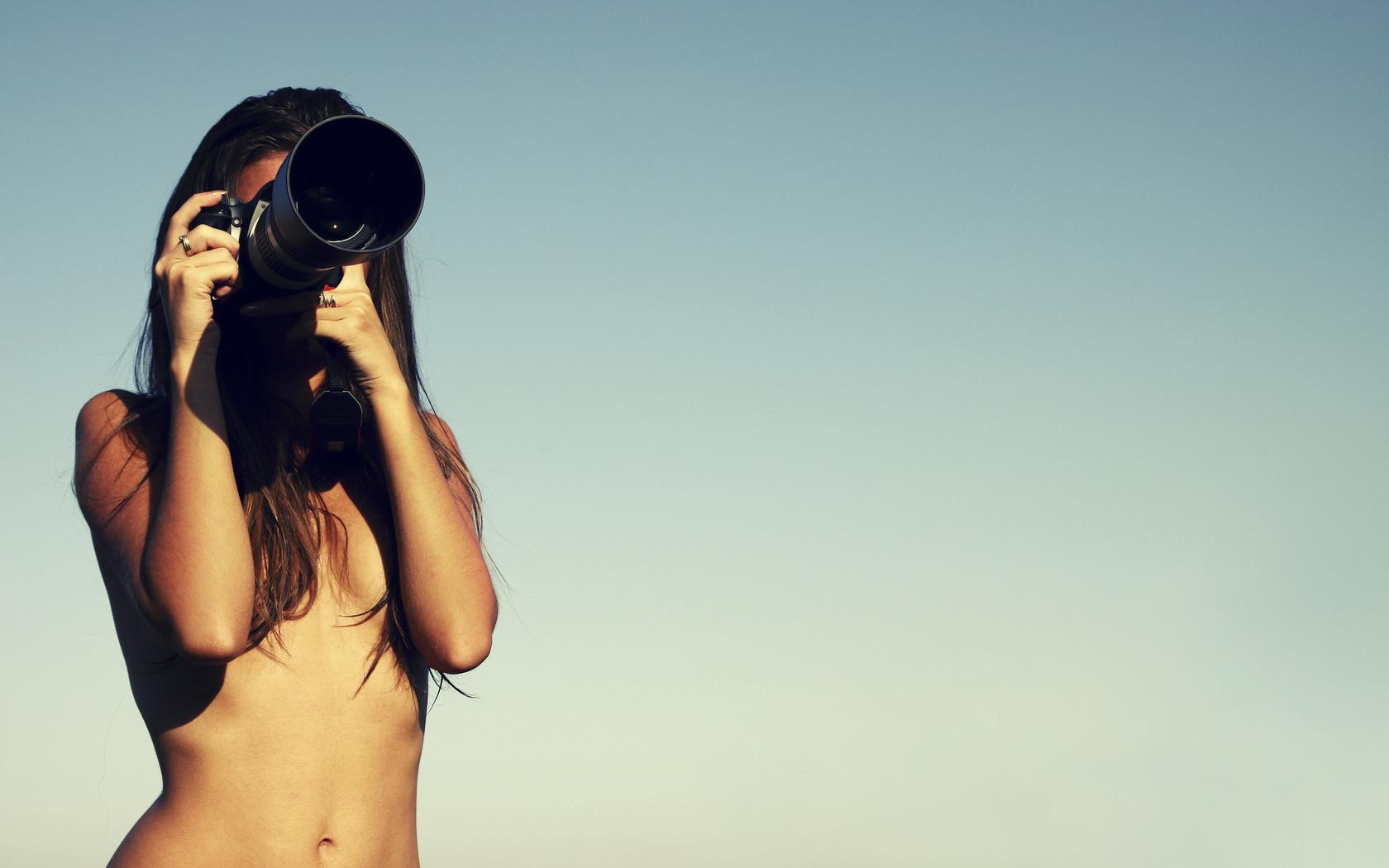 Sexy camera girl