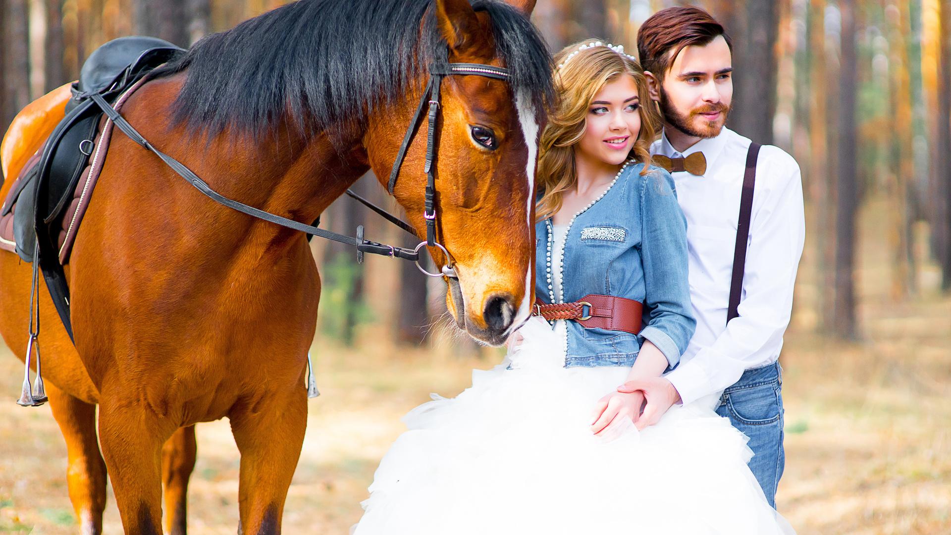 Люба, красивые картинки с парнями лошадьми