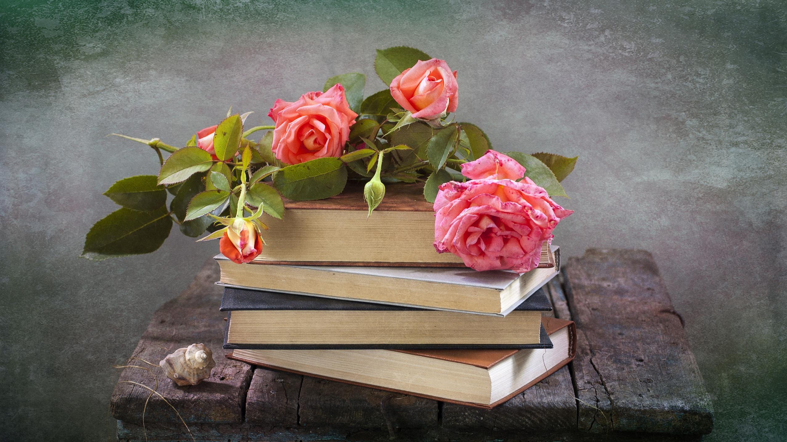 Приколы про, открытка с днем рождения книга и цветы