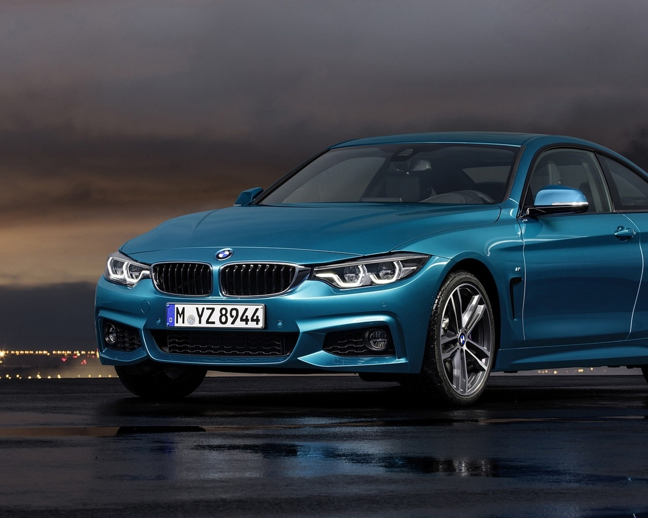 bmw, 4 series, coupe, sport, 2018