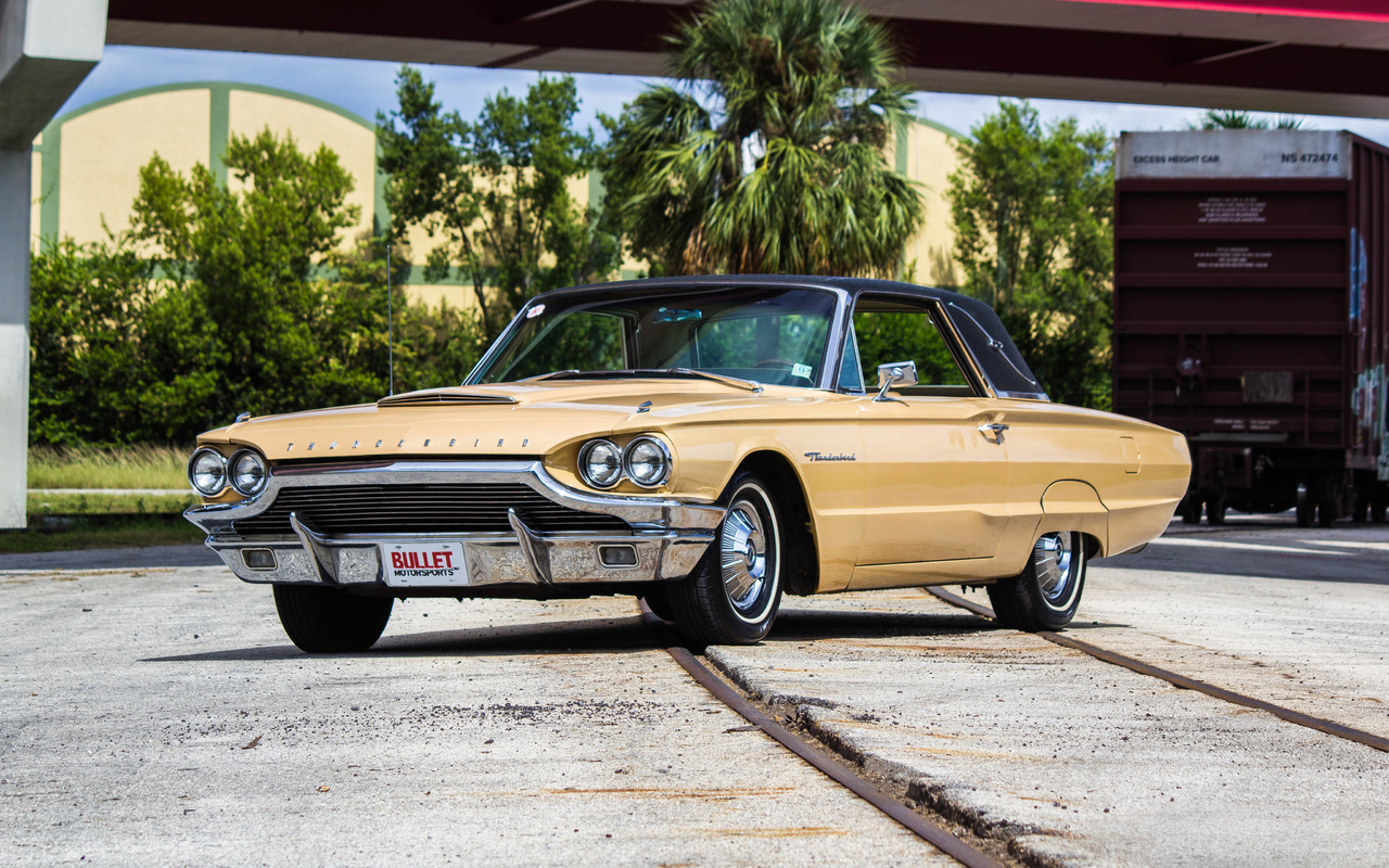 ford, thunderbird, 1964