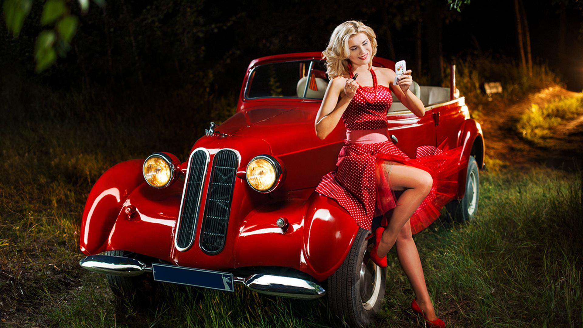 Девушка на машине открытка, стихами день