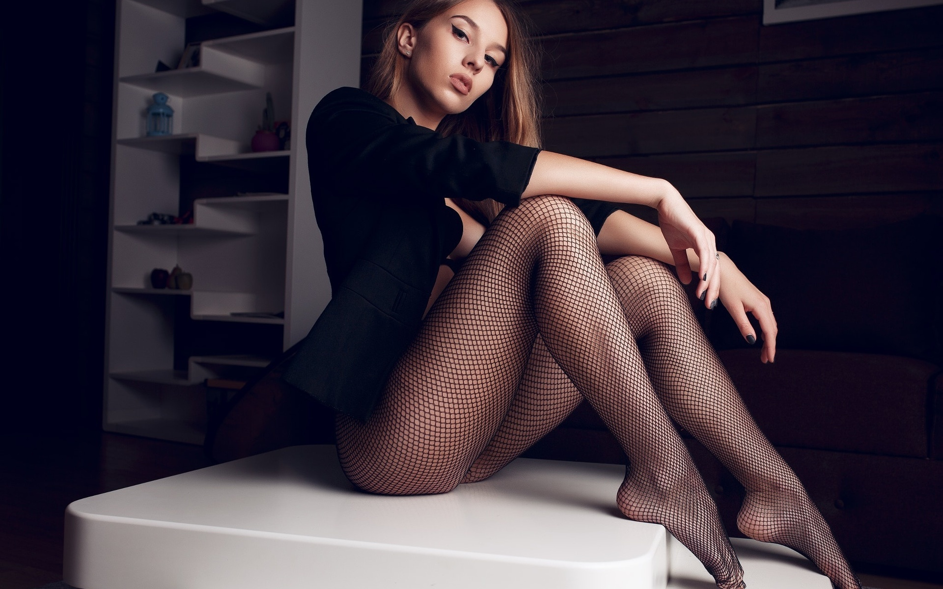 Girl with hot legs — pic 15