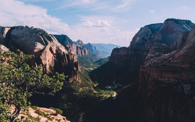 скалы, каньон, природа