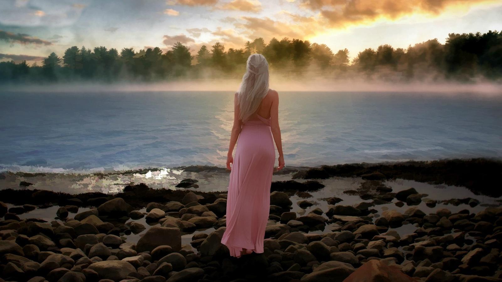 Фото девушек блондинки на закате, Блондинки: фото со спины 16 фотография