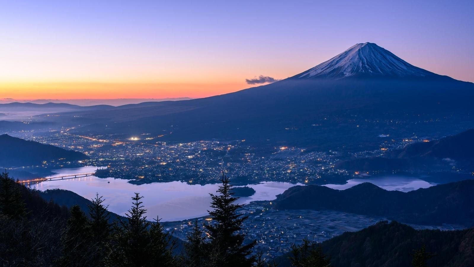 гора фудзияма в японии фото презентация направления