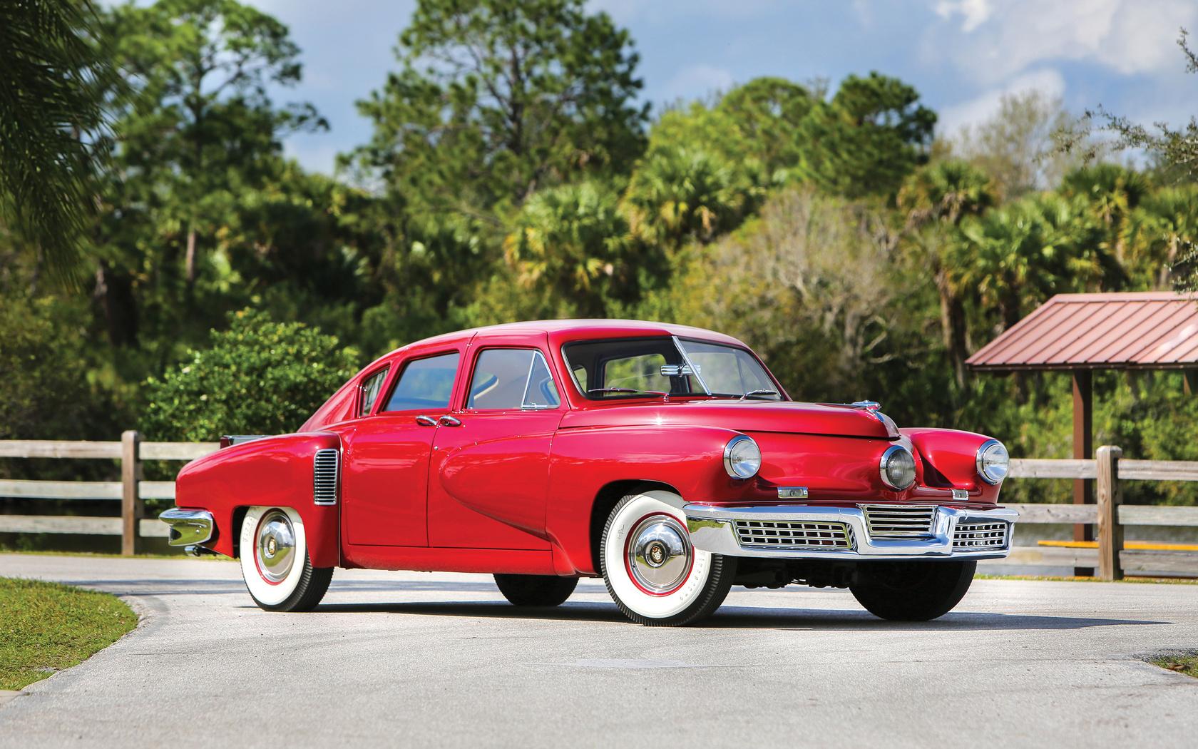 ретро, суперкар, tucker, sedan, 1948