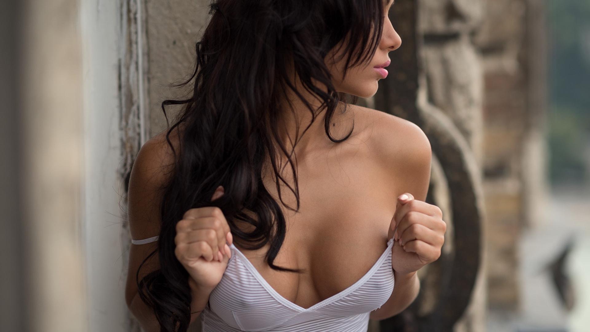 Раком фото красивый гламурный секс с большим груди и соски элитные