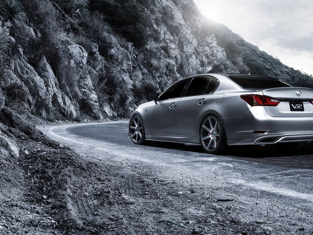 автомобиль, машина, supercharged, 2013, lexus gs 350, f sport, дорога, горы