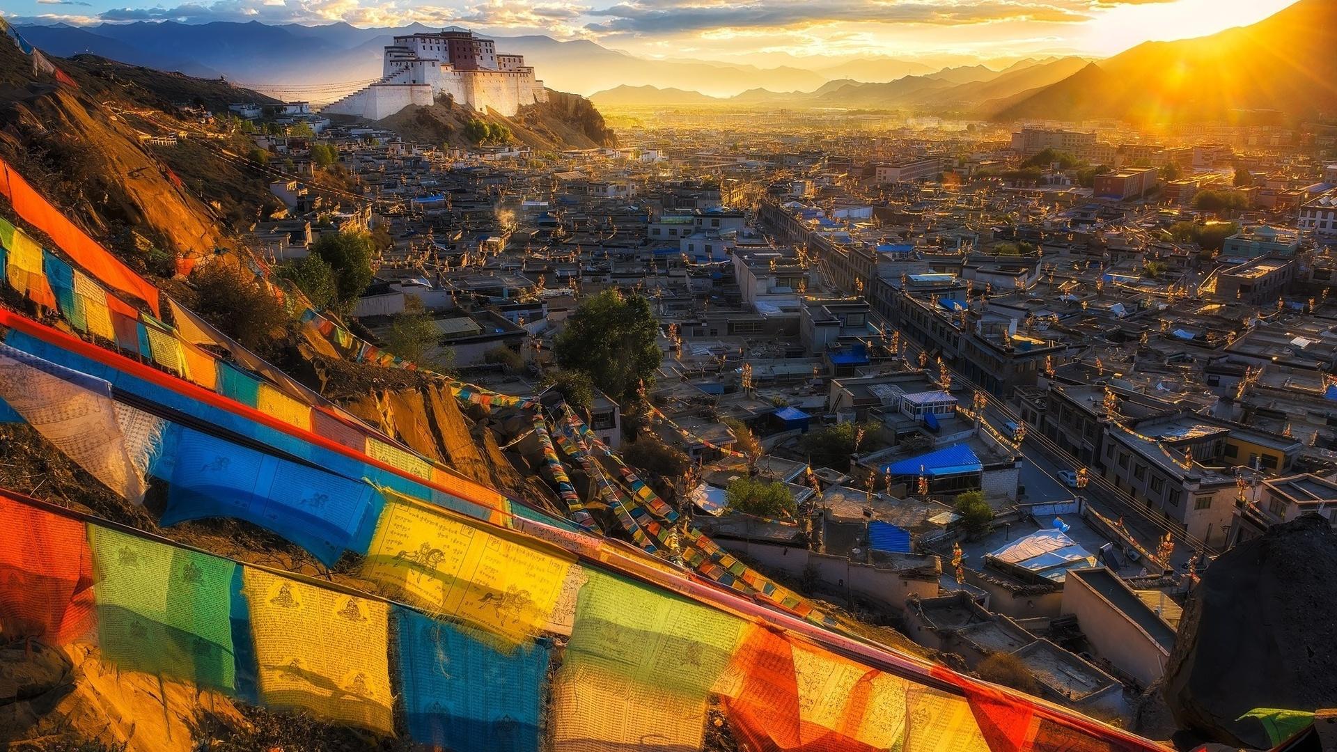 тибет, монастырь, храм, лхаса