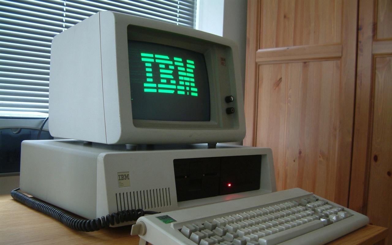 клавиатура, компьютер, монитор, офис