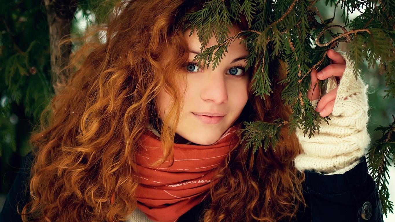Рыжих девушек фото картинка
