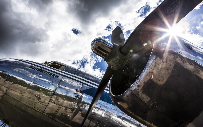 самолет, винт, авиация