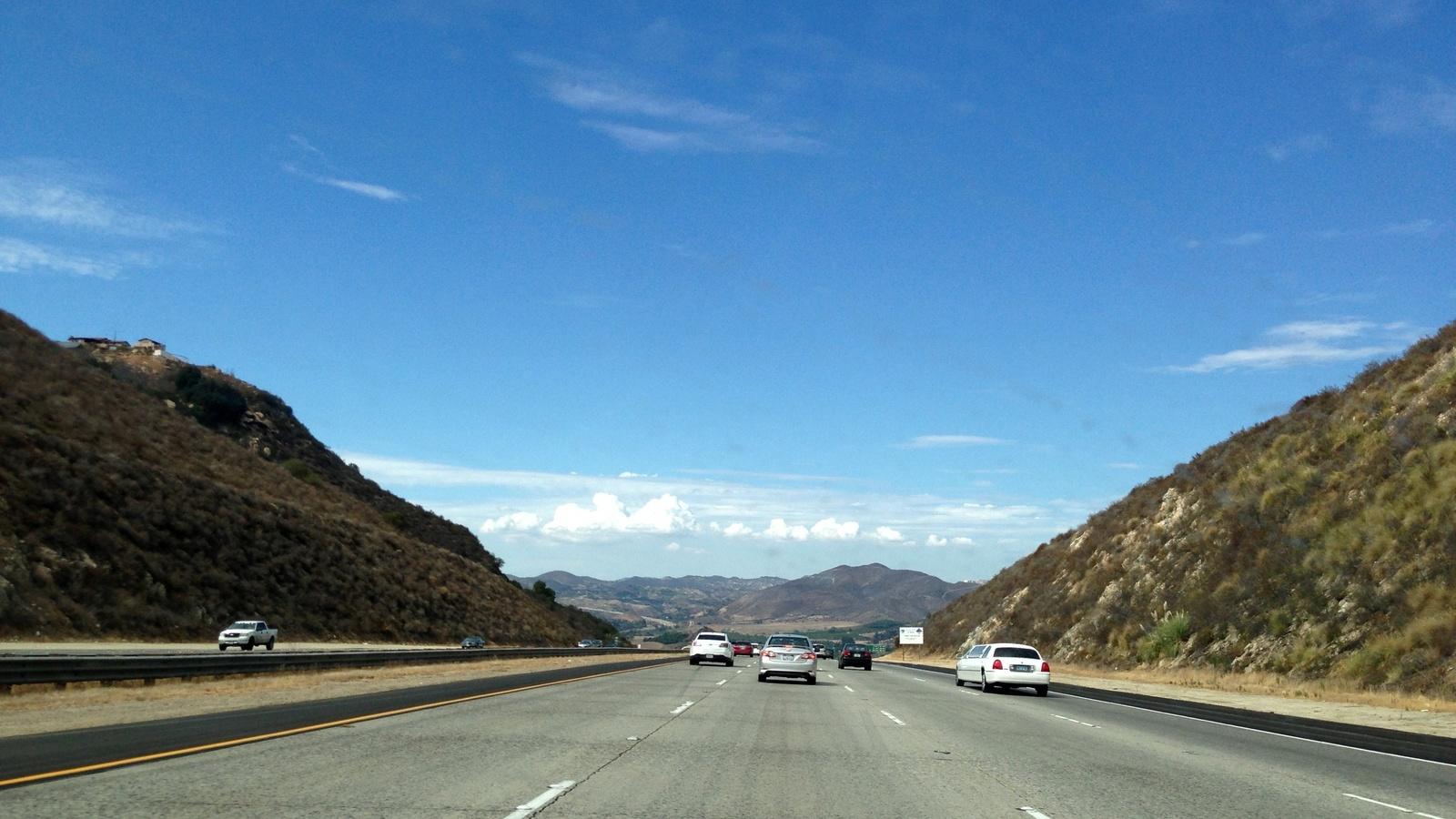 дорога, шоссе, авто, движение, скорость