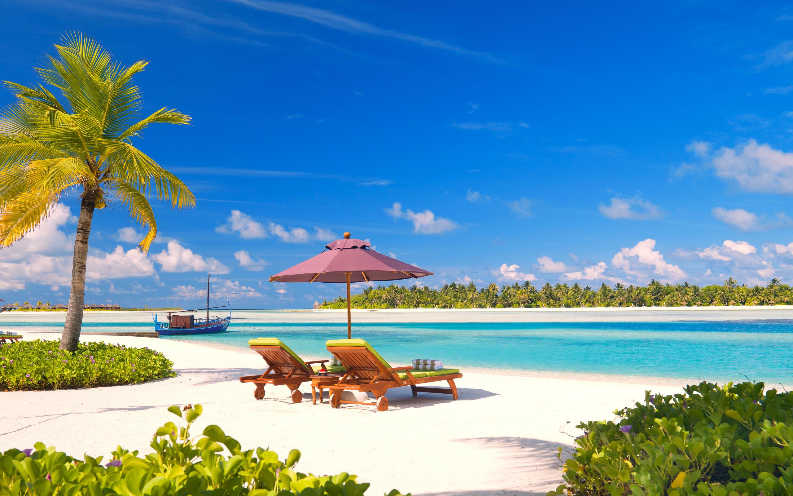 море, пляж, пальмы, отдых, тропики, мальдивы