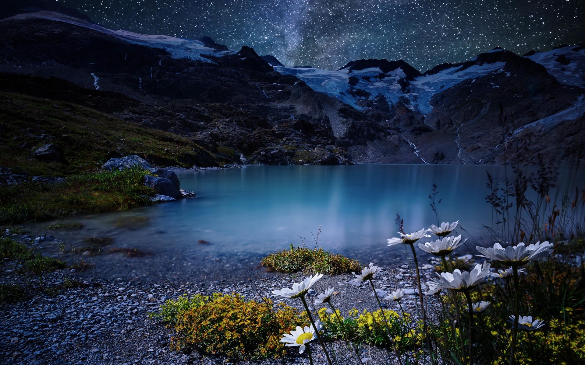 Днем, картинки природа ночью красота