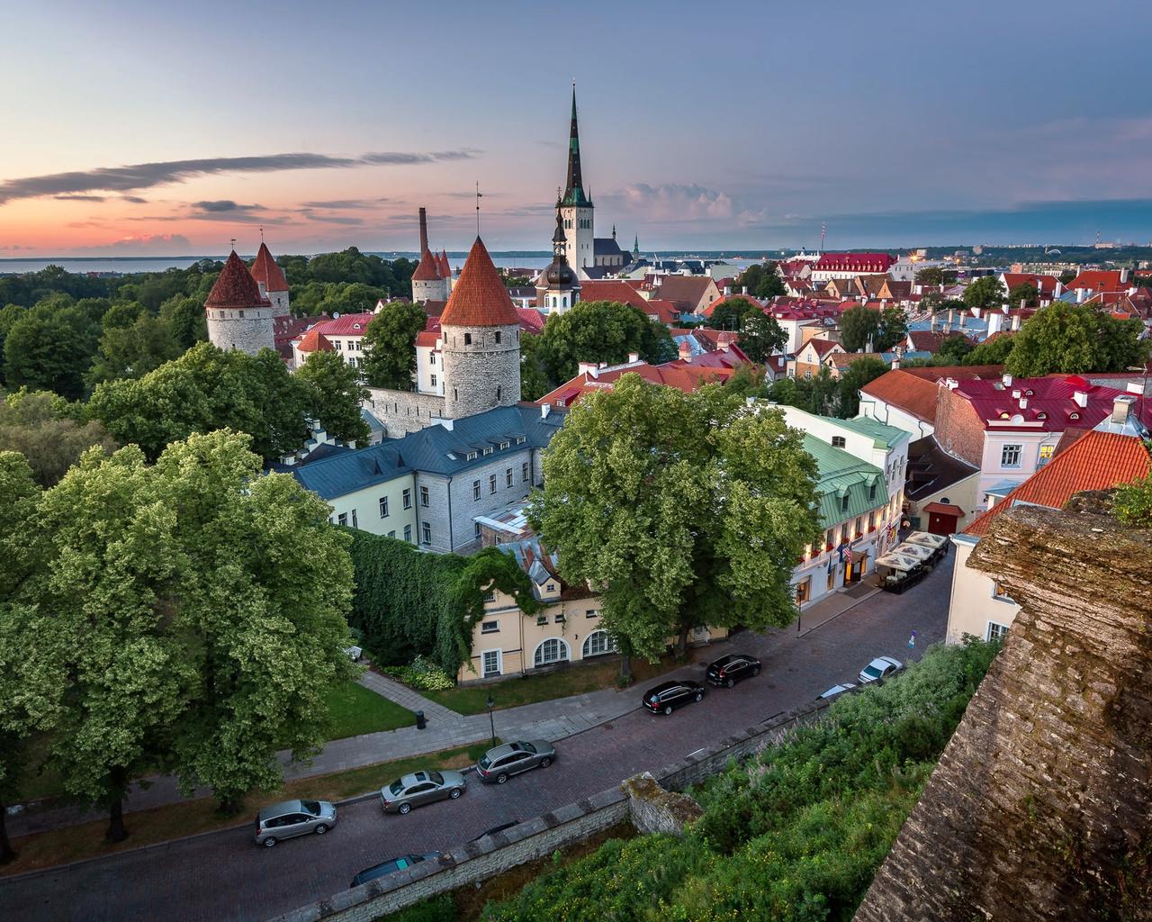 Зимние, картинки эстонские