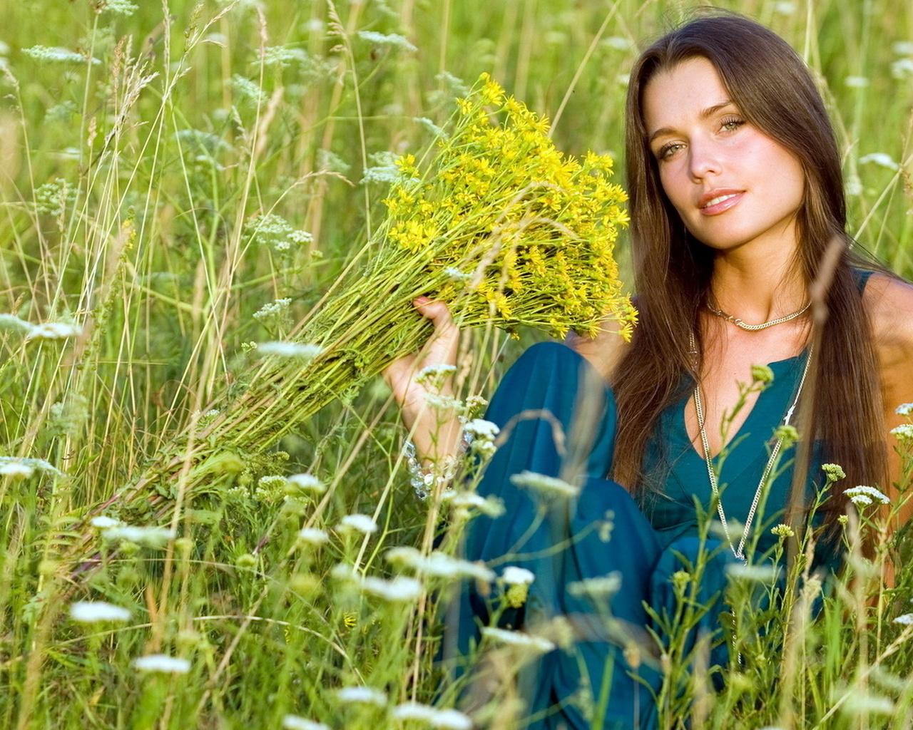 Фото русских девушек летом — pic 10