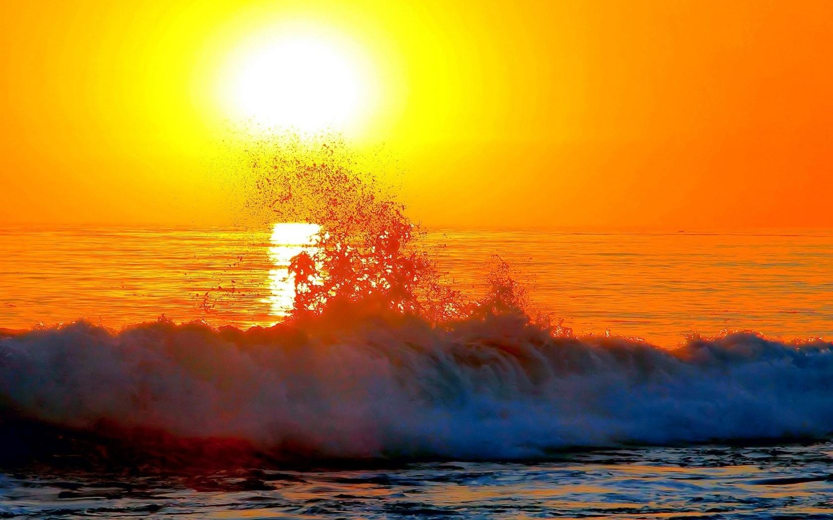 Картинки море волны солнце, приветик