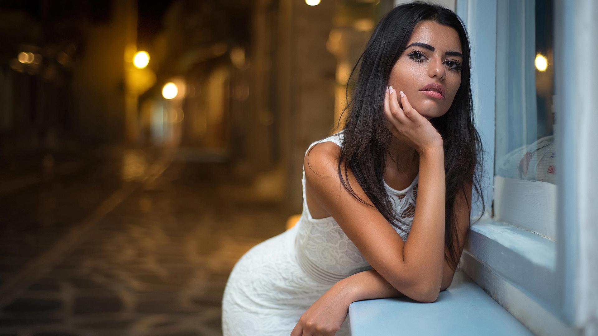 Фото красивой девушки брюнетки 10 фото, Длинноногие брюнетки (66 фото) 1 фотография