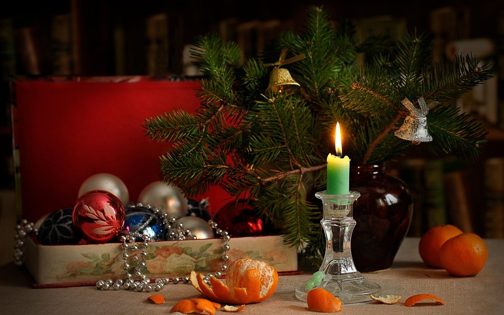 Новогодние картинки свеча с игрушками, будет