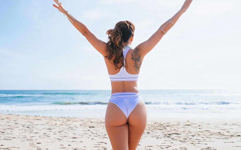 Спортивные девушки на пляже, Сексуальные девушки на пляже Ежедневный мужской 23 фотография