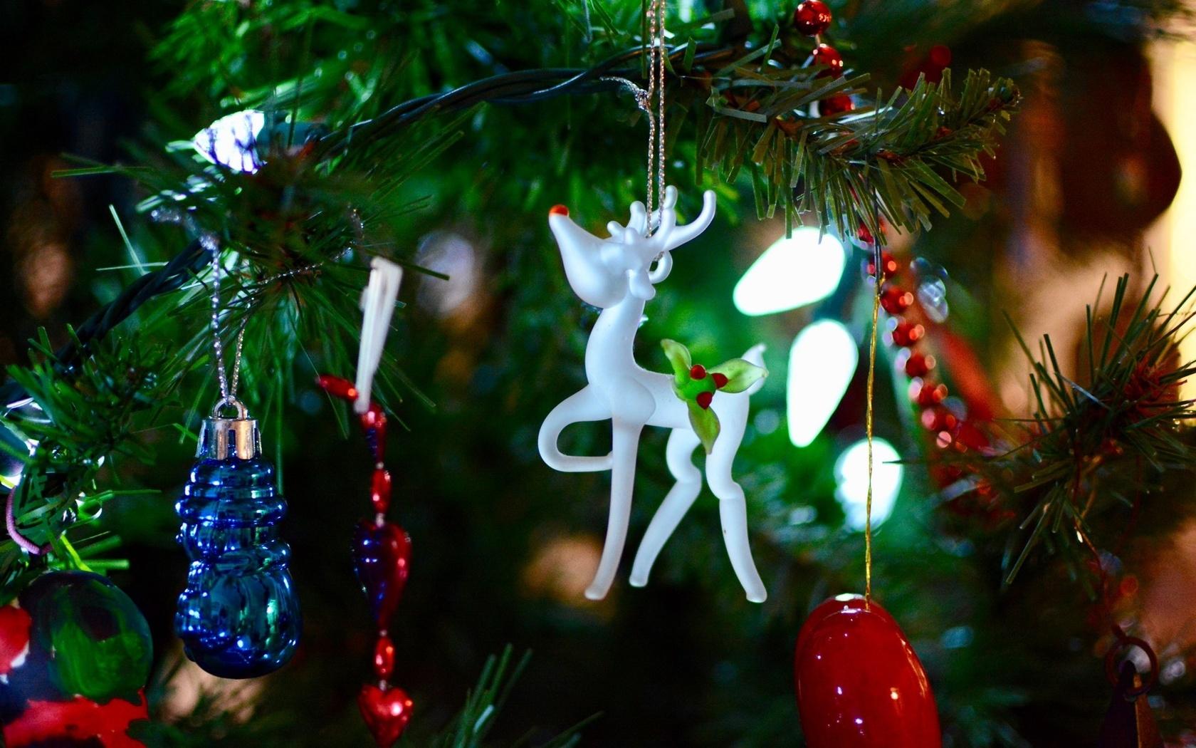 праздники, игрушки, боке