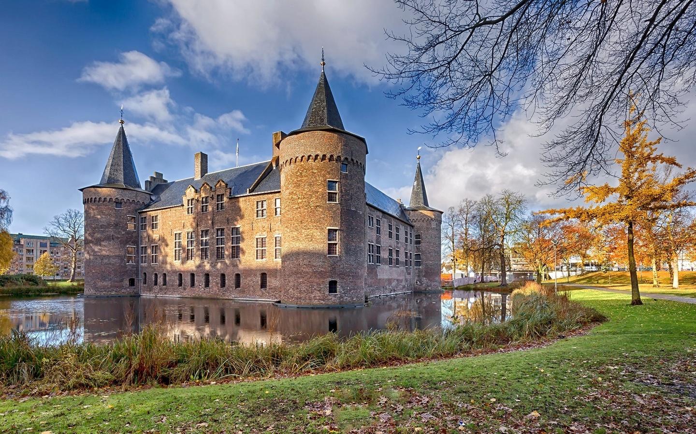 helmond, замок, голландия
