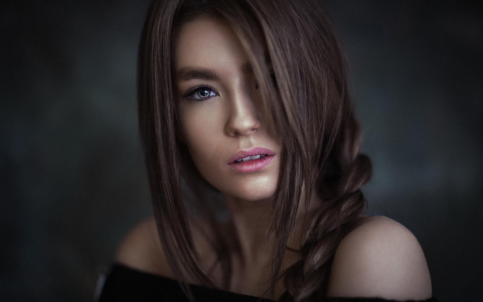 women, face, portrait, ali falak