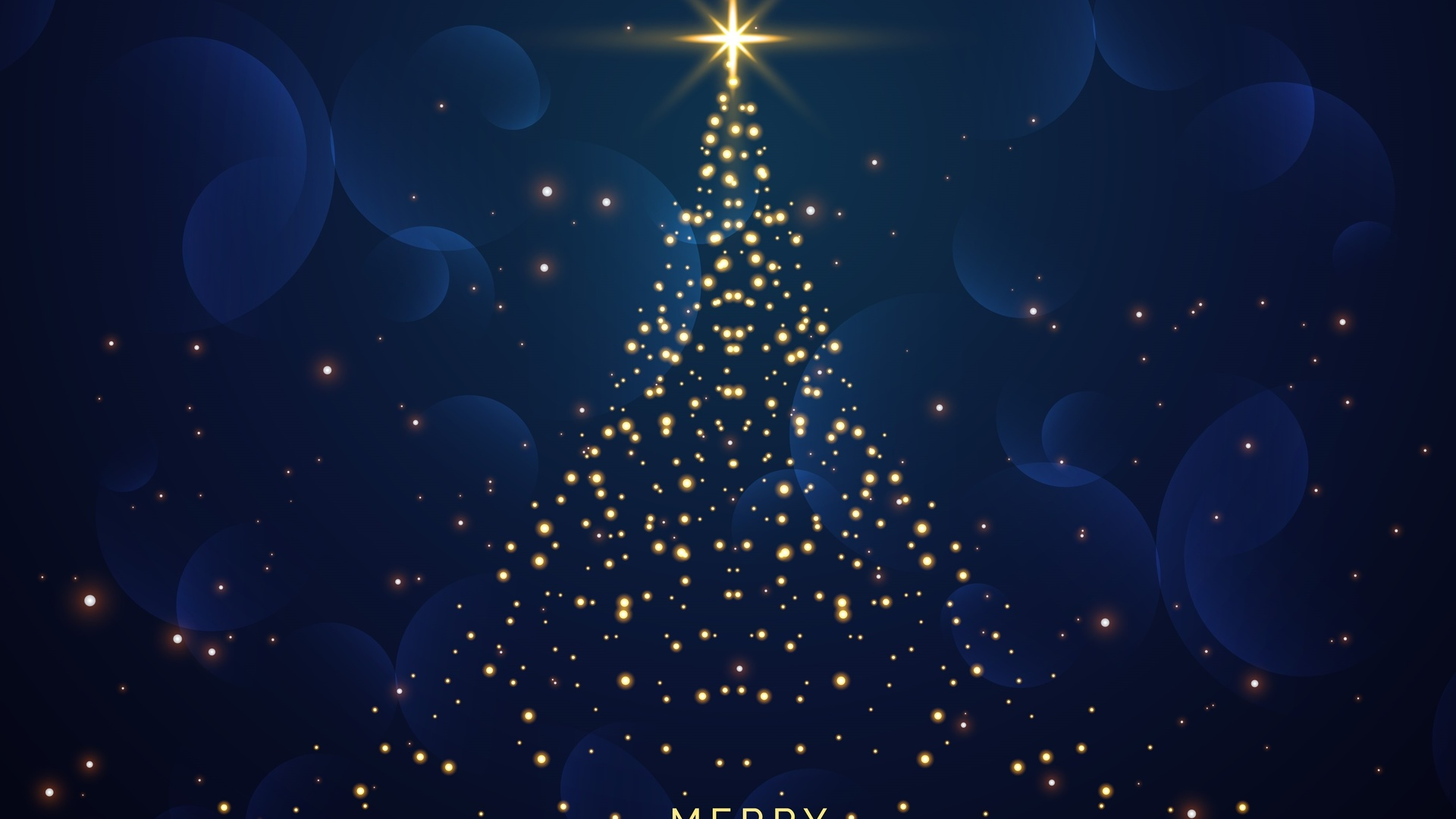 merry christmas, темный фон